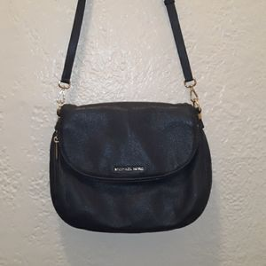 Michael Kors Dark Blue Leather Bag